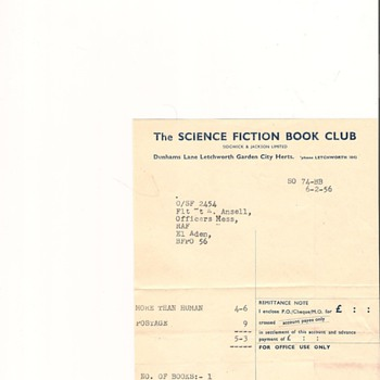 Science Fiction Book Club - Books