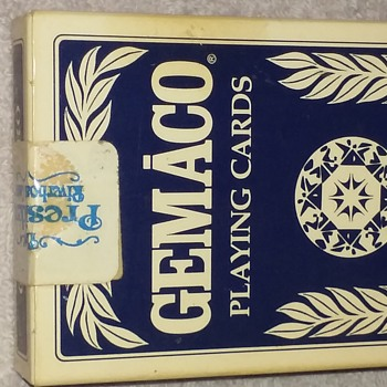re-sealed deck of playing cards from THE PRESIDENT Riverboat Casino - Cards