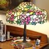 Chicago Mosaic Shade Company leaded lamp