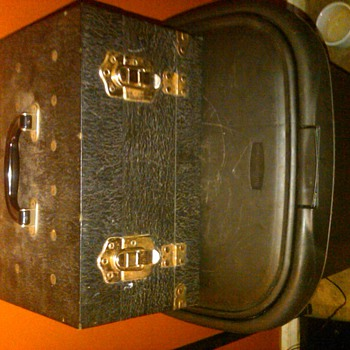 "Vintage ""Golden X"" Petroleum Salesman Sample Case"