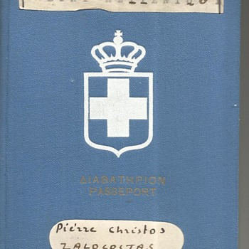"""Rare 1942-43 Nazi Puppet Goverment of Greece - Etat Hellinque or """"Greek State"""" - Paper"""