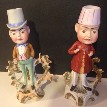 Male figurine Candlesticks - Figurines