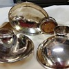 """Mystery Sterling-Oyster Slider?Appetizer Tray? 3 3/4"""" x 2 1/2"""" What is it?"""