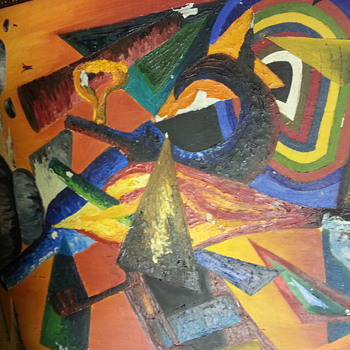 BENJAMIN HOFFMAN ABRAMOWITZ's Abstract  Painting - Fine Art