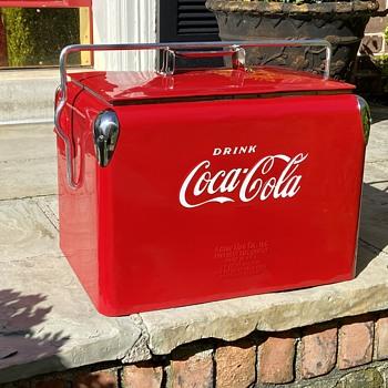 1950's Coca Cola Cooler RESTORATION - Coca-Cola