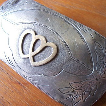 Double Heart Belt Buckle - Accessories