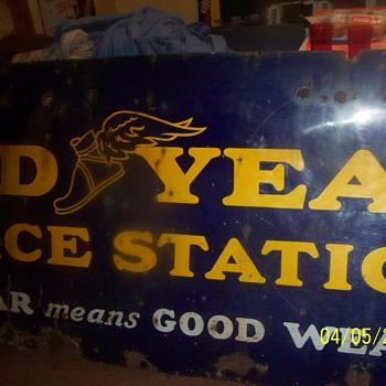 goodyear sign - Advertising