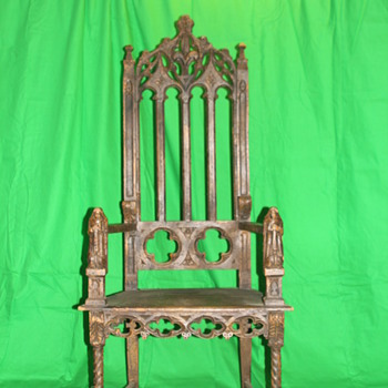 Chair Need help finding a style and date? maybe a chair from the late 1600's - Furniture