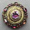 Early 20th Cent. Austro-Hungarian Rhinestone Brooch