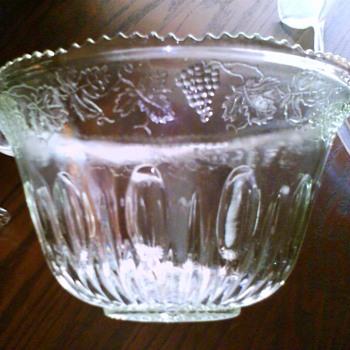 cut glass punch bowl / HELP ME APPRAISIAL - Glassware
