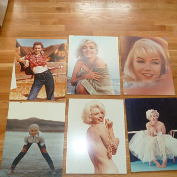 Marilyn Monroe pictures. - Photographs
