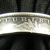 Silver Napkin ring made from genuine Morgan Silver Dollar