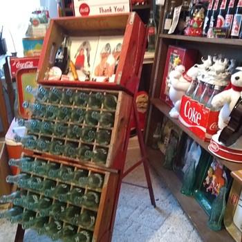 Coca Cola empty rack - Advertising