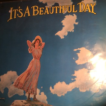 It's a beautiful Day released in 1969 - Records