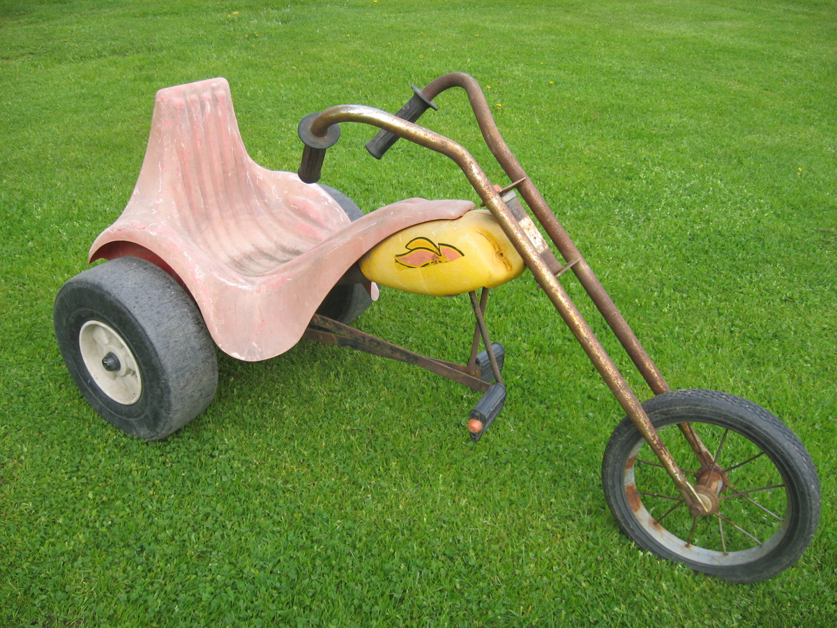 Vintage chopper pedal-trike ride-on toy AMF-Junior Hot Seat | Collectors  Weekly