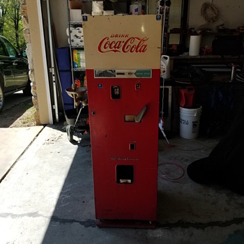 what is this machine  - Coca-Cola