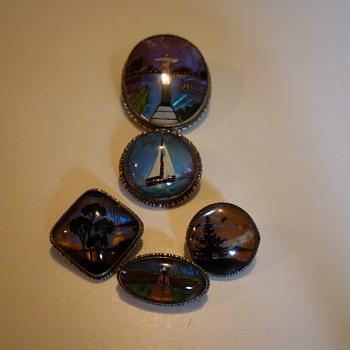 butterfly wing pendants - Costume Jewelry