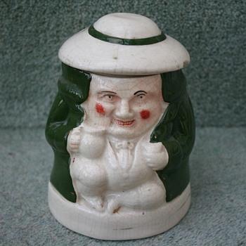 Character tobacco pot??