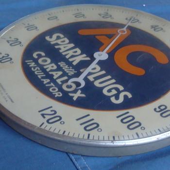 AC Spark Plugs PAM Thermometer - Advertising