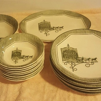 neat dinnerware  - China and Dinnerware