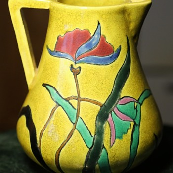 Awaji Pitcher Found on Ebay. - Pottery