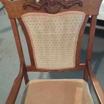 OAK PLATFORM ROCKER CHAIR - Furniture