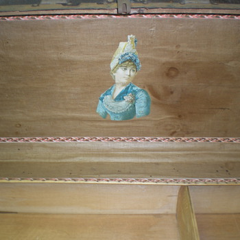 Old/Antique chest/trunk - Furniture