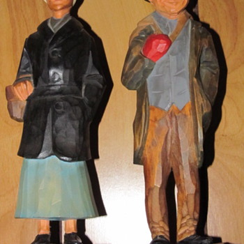 rose and yankee pedlar - Folk Art