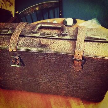 Walrus Skin Suitcase