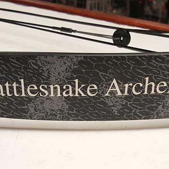 1994 Rattlesnake Archery Compound Bow - Sporting Goods