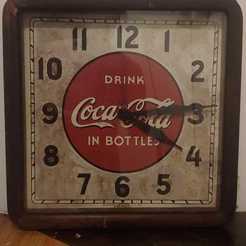1930's Coca Cola clock - Clocks