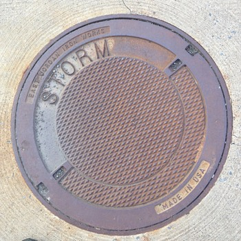 East Jordan Iron Works Storm Drain Cover - Tools and Hardware
