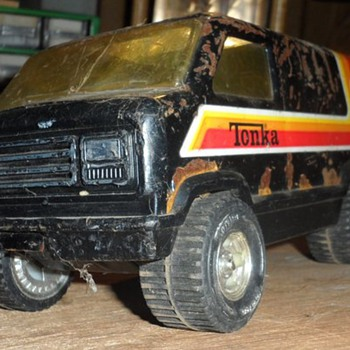 old tonka van - Model Cars