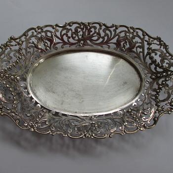 Silver tray - Silver