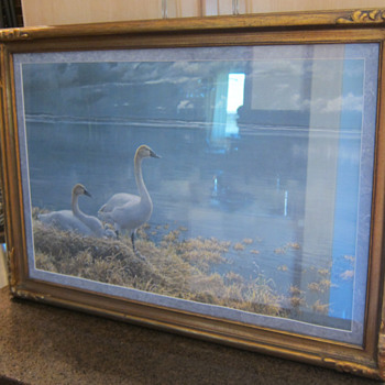 Robert Bateman  -  Wide Horizons Tundra Swans