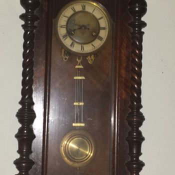 My favorite antique wall clock with pendulum. - Clocks