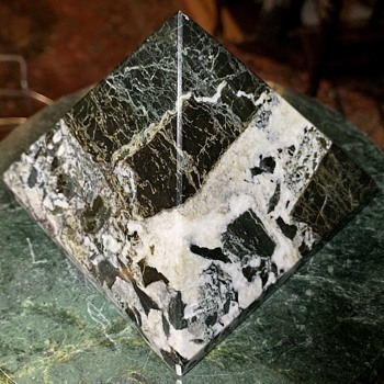 Carved Granite Pyramid - Fine Art