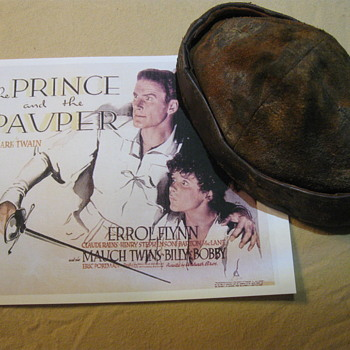 The Prince And The Pauper  .  .  . 1937 Production Hat