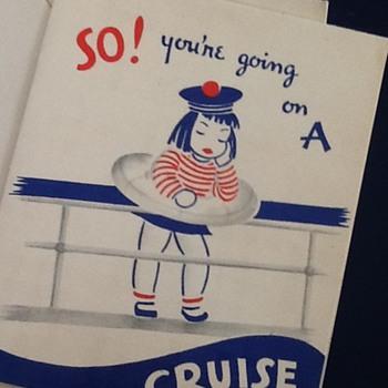 Vintage card - Paper
