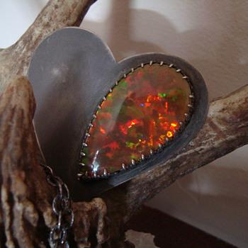 Blackheart Ethiopian Opal - Fine Jewelry