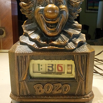 1948 Abbotsware Capital Records Bozo clock with Pennwood Movement. - Clocks