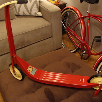 193os Wee Wheeler Scooter. - Sporting Goods
