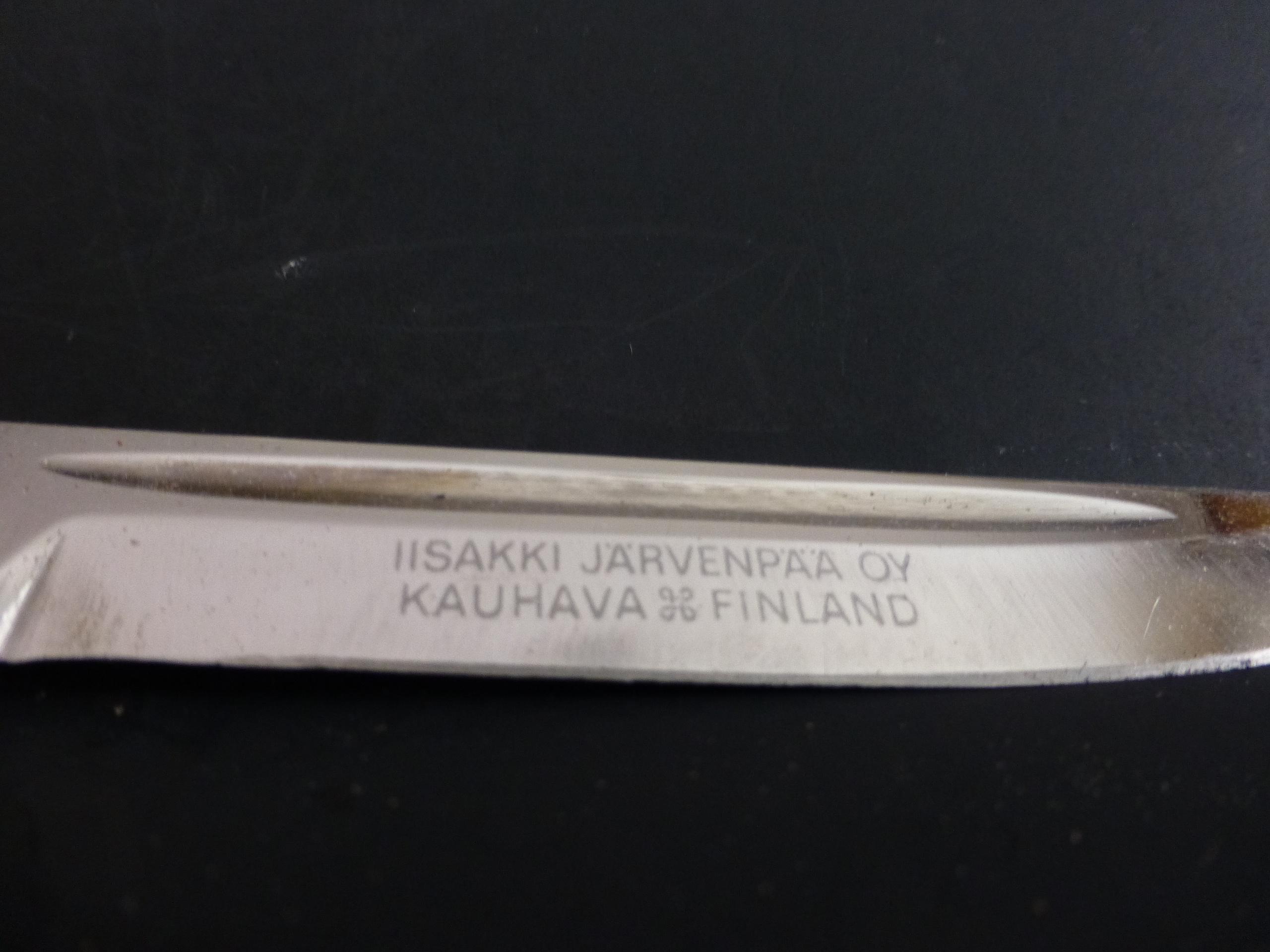 Iisakki Jarvenpaa Oy Kauhava Vallesmanni Finnish decorative