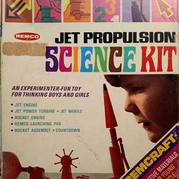 Remco Jet Propulsion Science Kit! - Toys
