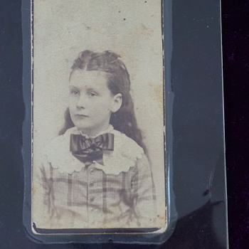 Picture of Great-Grandmother in 1887 - Photographs