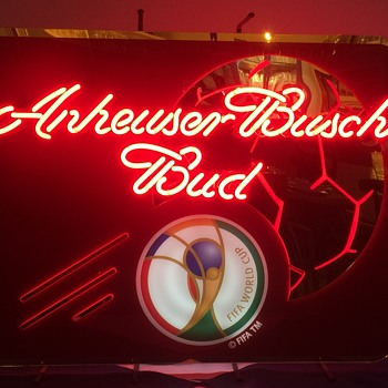 Anheuser Busch Bud Neon Sign - Signs