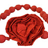 Silk Rosette Knotted Belt