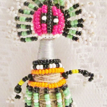 Ndebele fertility doll from South Africa