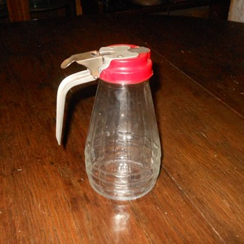 Vintage Owens-Illinois Glass Syrup Dispenser
