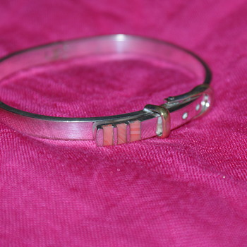 Buckle Bangle Marked 925 Mexico - Real or Not? - Fine Jewelry
